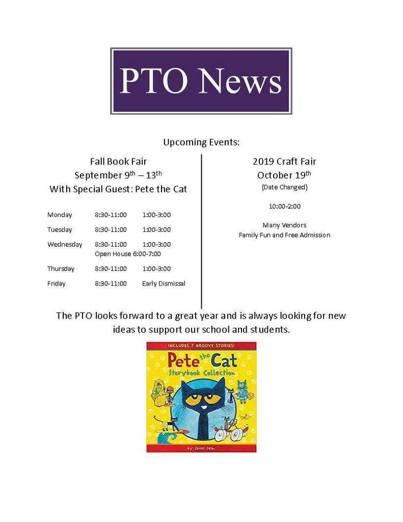PTO Upcoming Events