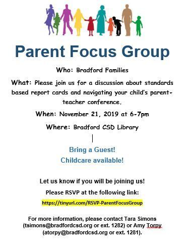 Parent Focus Group